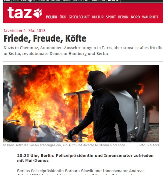 Bild-Text-Schere?