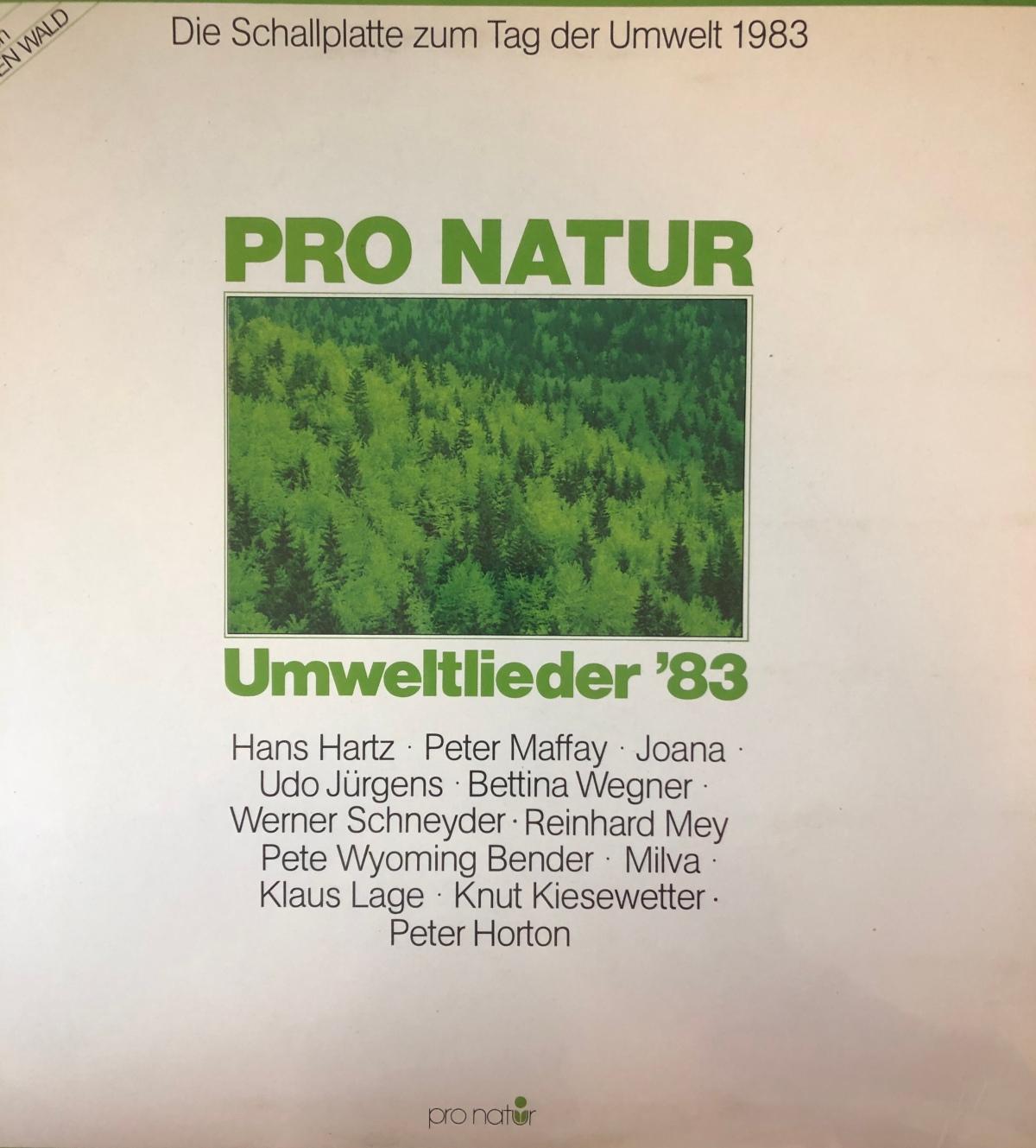 Musikfundstücke: Pro Natur – Umweltlieder´83